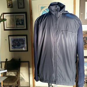 Emporia Armani Navy Windbreaker.  XL